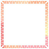 Ornamental frame Royalty Free Stock Photos