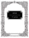 Ornamental frame in russian orthodox style Stock Photo