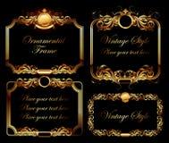 Ornamental frame Stock Photos