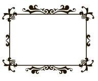Ornamental frame template Royalty Free Stock Photo