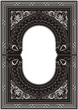 Ornamental Frame Vector 01. Elegance Ornamental Decoration Frame Vector stock illustration