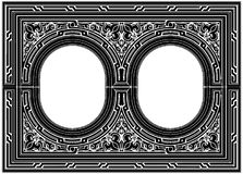 Ornamental Frame Vector 02 Stock Photo