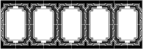 Ornamental Frame Vector 03 Stock Image