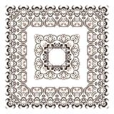 Ornamental Frame. stock illustration