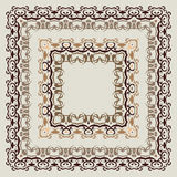 Ornamental  Frame. Royalty Free Stock Photos
