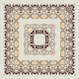 Ornamental  Frame. Royalty Free Stock Image
