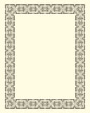 Ornamental  frame vintage Royalty Free Stock Photo