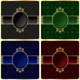 Ornamental frames royalty free illustration