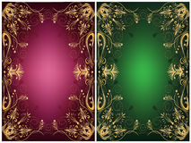Ornamental frames Stock Image