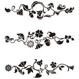 Ornamental frieze designs Stock Photography