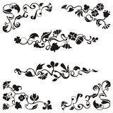 Ornamental frieze designs Stock Photos