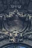 Ornamental Frontispiece Detail Royalty Free Stock Photo