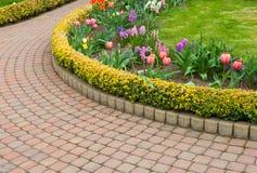 Ornamental garden Stock Images