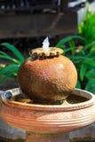 Ornamental Garden Fountain Royalty Free Stock Photos