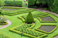Ornamental Garden, Scotland Royalty Free Stock Image