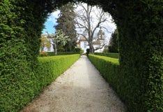 Ornamental Garden. In the spring, Portugal Royalty Free Stock Photos