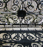 Ornamental gate Stock Photography