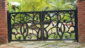 Ornamental Gate Royalty Free Stock Images