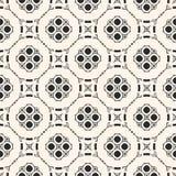 Ornamental geometric background in Arabian style. Vector monochrome ornamental geometric background. Stylish seamless pattern in Arabian style. Traditional Royalty Free Stock Image
