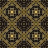 Ornamental Geometric Pattern Stock Photo