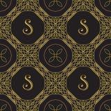 Ornamental Geometric Pattern Stock Image