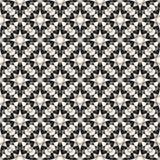Ornamental geometric vector seamless pattern. Mosaic texture Stock Image