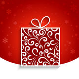 Ornamental gift box Royalty Free Stock Images