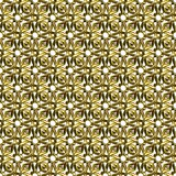 Ornamental gold surface. Background illustration of precious metal antique artifact Royalty Free Stock Photo