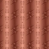 Ornamental golden background with seamless pattern Stock Photography