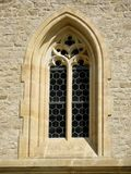Ornamental gothic window Royalty Free Stock Images