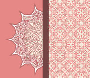 Ornamental graphic design Royalty Free Stock Images