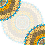 Ornamental handmade abstract artwork pattern lace background template Royalty Free Stock Photos