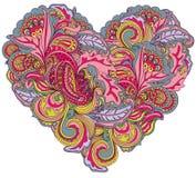 Ornamental heart Royalty Free Stock Photos
