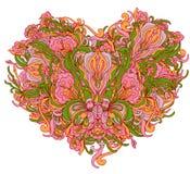Ornamental heart Stock Photo