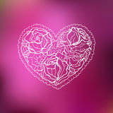 Ornamental Heart. Love. Royalty Free Stock Image