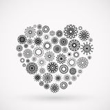 Ornamental Heart Royalty Free Stock Images
