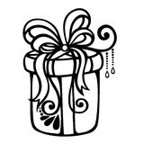 Ornamental Holiday Gift Stock Photo