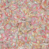 Ornamental indian pattern. Vector eastern background. Illustration for wrapping paper, packaging design and decoration Royalty Free Stock Photography