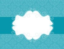 Ornamental invitation background Royalty Free Stock Photography