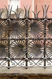 Ornamental iron fence Royalty Free Stock Photo