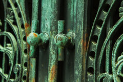 Ornamental iron work Royalty Free Stock Photography