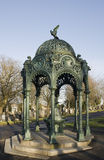 Ornamental ironwork fountain Stock Photos