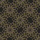Ornamental islamic seamless pattern. Vector abstract background. Stock Photo