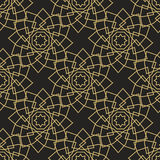 Ornamental islamic seamless pattern. Vector abstract background. Royalty Free Stock Photography