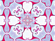 ornamental kaleidoscope Стоковое фото RF