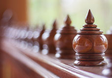 Ornamental knob Stock Photos
