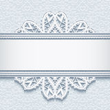 Ornamental lace background Royalty Free Stock Images