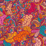 Ornamental lace pattern, background with many details, looks lik Stock Images