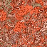 Ornamental lace pattern, background with many details, looks lik Royalty Free Stock Photography