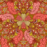 Ornamental lace pattern, background with many details, looks lik Stock Photos
